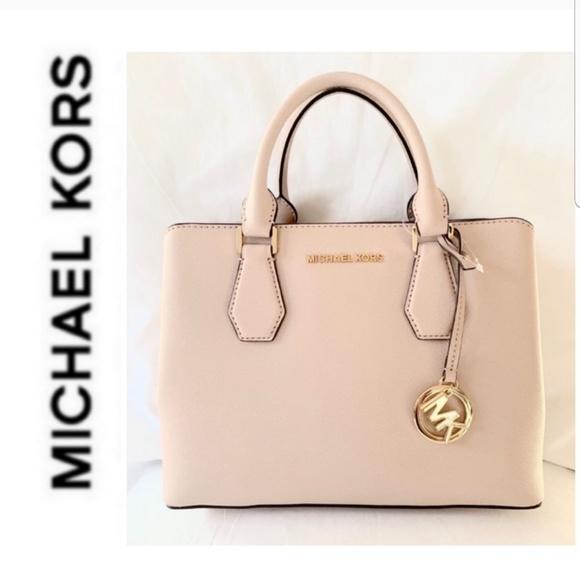 Michael Kors Handbags - NWT authentic MK camille medium satchel ballet